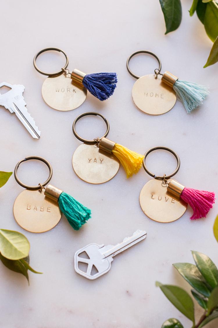 Brass+Keychains