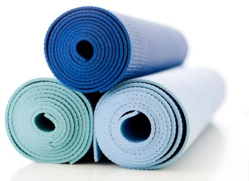 Stack of Yoga Mats