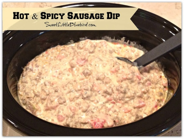 Hot and Spicy Sausage Dip 1